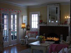 Lovely #shabby #living room