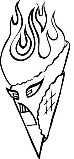 """знакомые просят нарисовать логотип группе """"I scream"""""""