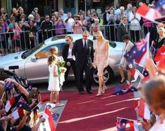 Princess Charlene solo in Australia Credit: Scott Barbour/Getty Images