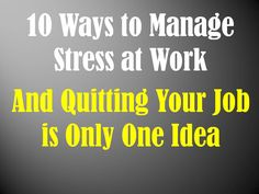 Stress Management at Work: 10 Tips for Preventing Burnout