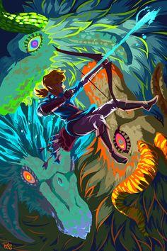 The Legend Of Zelda, Legend Of Zelda Memes, Legend Of Zelda Breath, Image Zelda, Princesa Zelda, 8bit Art, Link Zelda, Wind Waker, Fan Art