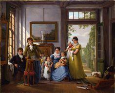 1816 Abraham van Strij - Hendrik Weymans and his Family