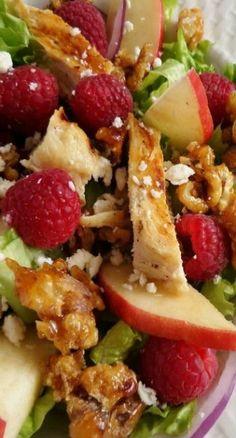 Fresh Raspberry Chicken Salad