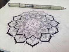 Mandala Designs, jznewkumet: Mandala Process 06.30.14 This was...