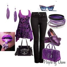 """""""For the Purple Lover"""" by momfor2girls on Polyvore"""