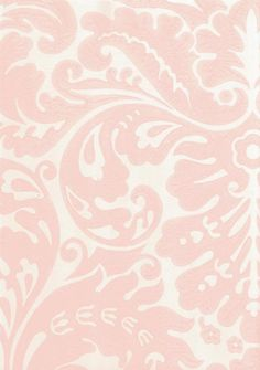 Wallpaper I like this for girls bathroom. What do you think? Silvergate Wallpaper Pale pink damask design wallpaper on off whiteI like this for girls bathroom. What do you think? Silvergate Wallpaper Pale pink damask design wallpaper on off white Damask Wallpaper, Designer Wallpaper, Bathroom Wallpaper, Damask Curtains, Pink Laundry Rooms, Pink Damask, Textiles, Curtain Patterns, Farrow Ball