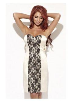 b9cf5b0401ab Amy Childs Panelled Bandeau Dress Amy Childs Dresses