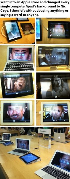 Nic Cage: The Ultimate Prankster
