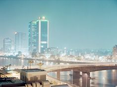 """""""15th May bridge 1 - Cario, Egypt"""" by Philipp Gallon. Available at: http://www.arrivals.se/product/15th-may-bridge-i-cairo-egypt"""