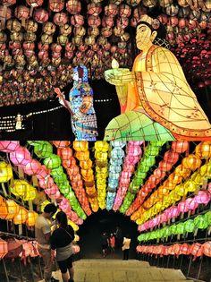 Celebrating Buddha's birthday at #Jeondeungsa Temple in #Ganghwa Island, Korea (May 17, 2013)