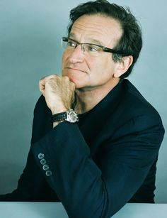 """""""I started doing comedy because that was the only stage that I could find. It was the pure idea of being on stage. That was the only thing that interested me, along with learning the craft and working, and just being in productions with people."""" -Robin Williams (July 21, 1951 - August 11, 2014) (i miss you)"""