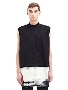 Visions of the Future: NEW SEASON - Rick Owens Mens Girdered Shield Tunic | LN-CC