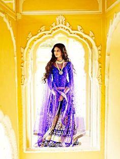 Beautiful traditional Indian elegance Rajastani style Anita Dongre presents the Jaipur Bride 2013 Anita Dongre, Indian Wedding Outfits, Indian Outfits, Indian Weddings, Wedding Dresses, Desi Clothes, Indian Clothes, Indian Couture, Pakistani Couture