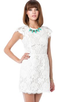 ShopSosie Style : Sarafina Dress in White maybe for pre-wedding events :)