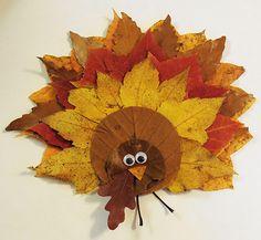 Thanksgiving Leaf Craft