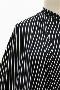 Marcel Stripe Bamboo Rayon/Spandex Knit
