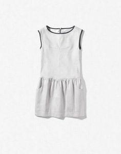SHIMMER LINEN DRESS - Dresses - Girl (2-14 years) - Kids - ZARA United States