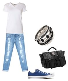 """""""Untitled #16"""" by wendy-ch on Polyvore featuring Bebe, Converse and T By Alexander Wang"""