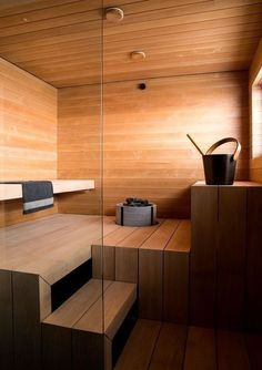 41 Excellent Palette Sauna Room Design Ideas For Winter Decoration To Try Bathroom Spa, Bathroom Colors, Master Bathroom, Bathroom Ideas, Modern Saunas, Sauna Kits, Indoor Sauna, Add A Room, Sauna Design