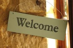 Provide a warm welcome with our handmade in Wales sign - from thebrocante.co.uk