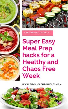 If you need help with healthy food preparation ideas for the week, look no further. This downloadable cheat sheet will have you meal prepping like a pro even if you feel like a beginner. Basic meal prep recipes with variations to keep it easy. www.fitchickchronicles.com #mealprepfortheweek #mealpreprecipes #mealprepforbeginners #mealprepideas #mealpreparationforahealthyweek #mealpreparation Easy Meal Prep, Easy Meals, Healthy Food Options, Healthy Recipes, Healthy Life, Healthy Eating, Meal Prep For Beginners, Make Good Choices, Meal Prep For The Week