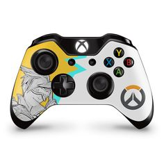 Xbox one Tracer Overwatch theme controller skin custom decal sticker in Video Games & Consoles, Video Game Accessories, Faceplates, Decals & Stickers Custom Xbox One Controller, Xbox Controller, Xbox Pc, Fun Video Games, First Video Game, Overwatch Xbox, Overwatch Gifts, Control Xbox, Xbox Accessories