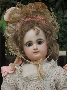 Beautiful Large French Bisque Bebe by Rabery and Delphieu (item #1308157, detailed views)