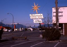 Eldorado motor hotel, Giant tv screen and beer parlour, Vancouver by Pop Snap Vancouver Photos, Vancouver Bc Canada, Vancouver Island, Old Pictures, Old Photos, Sidney Street, Quebec City, Historical Pictures, Vintage Photography