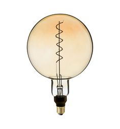 Zlaté LED tvoria LED žiarovky so zlatistým efektom skla. Light Bulb, Retro, Led, Lighting, Vintage, Home Decor, Speech Balloon, Decoration Home, Room Decor