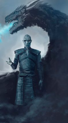 Game of Thrones Night King by Entar0178
