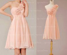 short bridesmaid dress, champagne bridesmaid dress, chiffon bridesmaid dress, wedding bridesmaid dress, bridesmaid dress short, RE101 on Etsy, $108.36 AUD