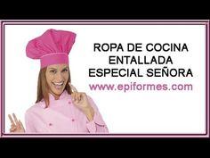 Ropa de cocina entallada especial para señora de alta calidad y de diseños elegantes y originales