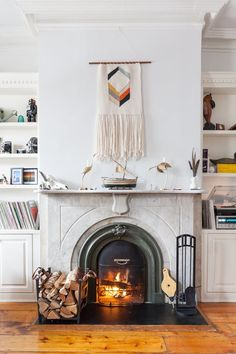 4 Ways to Get Your Fire Fix Without a Fireplace — How To Hygge / Kitchn