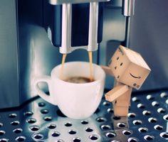 e é assim que funciona a máquina de café .