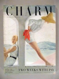 Charm Magazine May 1952| Evelyn Tripp left
