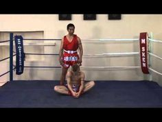 ▶ Muay Thai stretches -- Muay Thai workout - YouTube