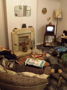 1950s living room- portsmouth city.  Elements of this room were to be found in my & my relatives homes.