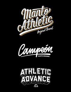 Manto: Custom Letters on Behance