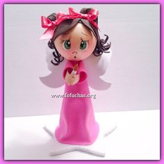 Angel Fofucha  3d Fofucha Doll  #Angel #BaptismCenterpiece #BirthdayIdeas