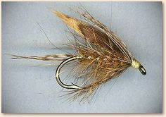 Read an article at lunch on rediscovering Wet Flies. This is an old Hares Ear pattern.