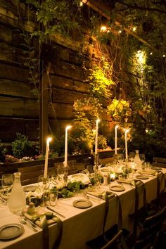 The wamth of the low-temp lighting, the wood, and natural materials and plants along the wall