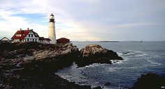 We got to walk all around this one, just not up to the top. Portland Head Lighthouse in Maine