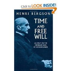 bergson essay on time