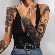 """""""Mi piace"""": 1,842, commenti: 3 - @tattoo4em su Instagram: """" Follow @tatttoo_today ✔ C: @michellechristyn All right are reserved to their rightful owner…"""""""