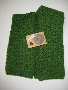 Mossy Green Scarf