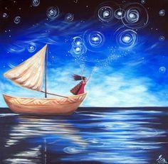 Matariki - Celebrating the Maori New Year Art Print Recent Earthquakes, New Year Art, Original Paintings, Original Art, Enter To Win, Sign Printing, Photo Illustration, Art Google, Lovers Art