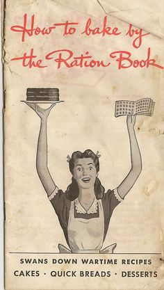 British Victory Cake WWII Celebration Cake ~ and a couple of recipes using rationed ingredients. Pretty nifty and intriguing. Retro Recipes, Old Recipes, Vintage Recipes, Cookbook Recipes, War Recipe, Wartime Recipes, Depression Era Recipes, Wacky Cake, Vintage Cooking