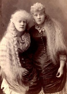 Albinos Twins  1800's