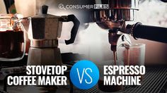 In this article, we're going to make a thorough comparison between stovetop coffee maker vs espresso machine. Which do you think is better? Coffee Maker Machine, Espresso Machine, Coffee Magazine, Espresso Coffee, Good Things, Espresso Coffee Machine, Expresso Coffee, Coffee Making Machine, Espresso Maker