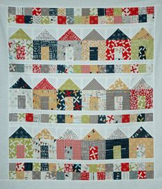 The sawdust has finally settled around here and construction is now complete on my Full House quilt!  This one was so much fun to ...
